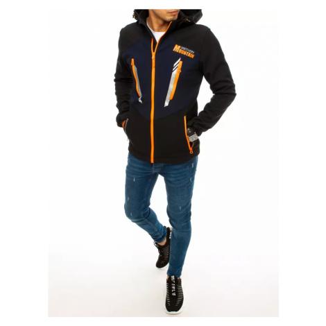 Men´s black softshell jacket TX3646 DStreet