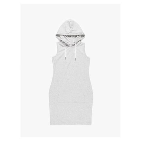 GATE Mikinové šaty bez rukávov