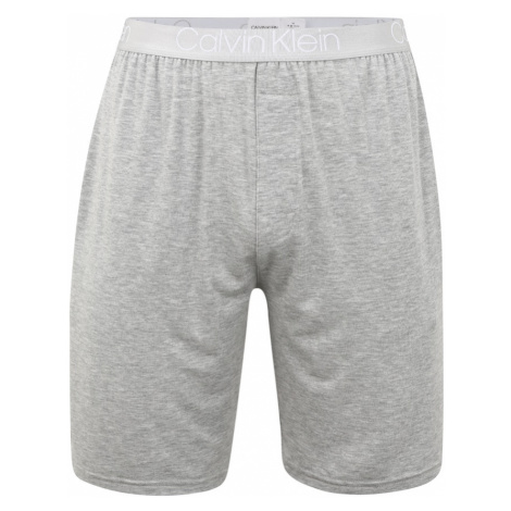 Calvin Klein Underwear Pyžamové nohavice  sivá / svetlosivá / biela