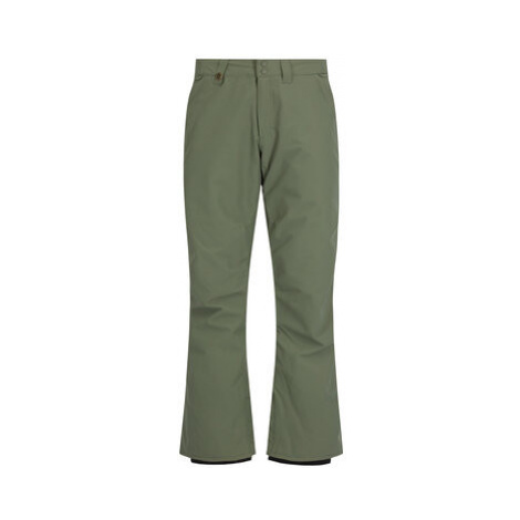 Quiksilver Snowboardové nohavice Estate EQYTP03116 Zelená Modern Fit