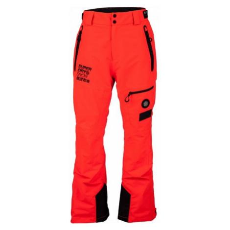 Superdry SD PRO RACER RESCUE PANT červená - Pánske lyžiarske nohavice
