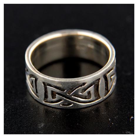 Strieborný prsteň 14754