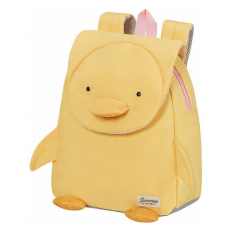 Samsonite Detský batoh Happy Sammies Eco S Duck Dodie 7,5 l - žlutá
