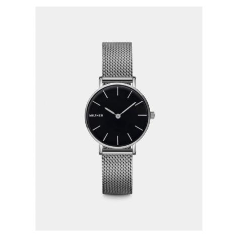 Dámske hodinky s nerezovým remienkom v striebornej farbe Millner Mini