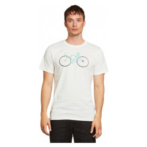 Dedicated T-shirt Stockholm Cyclopath Off-White-XL biele 18283-XL