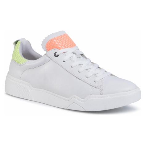 Sneakersy TAMARIS - 1-23793-34 Wht/Lt/Neon 267