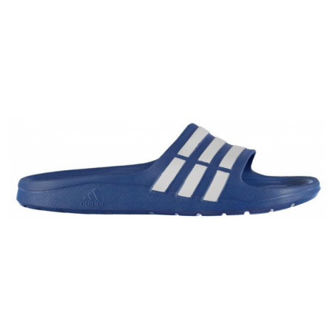 Adidas Duramo Junior Sliders Blue/White