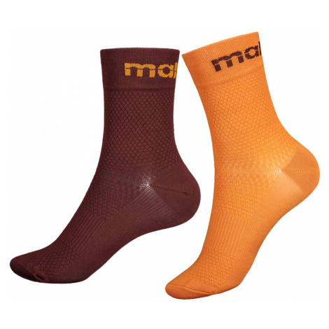 Ponožky Maloja MathonM. tmavočervené
