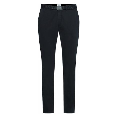 Calvin Klein Chino nohavice  čierna