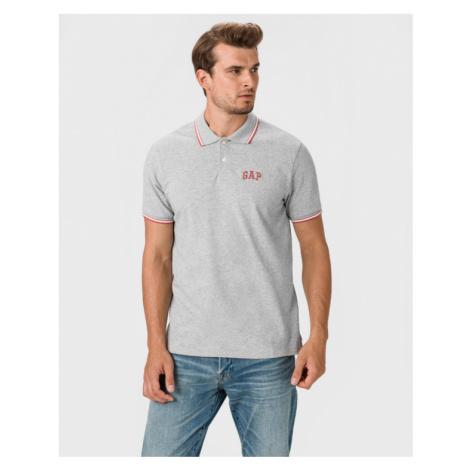 GAP Polo tričko Šedá