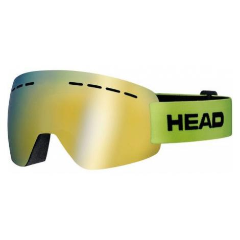 Head SOLAR FMR zelená - Lyžiarske okuliare
