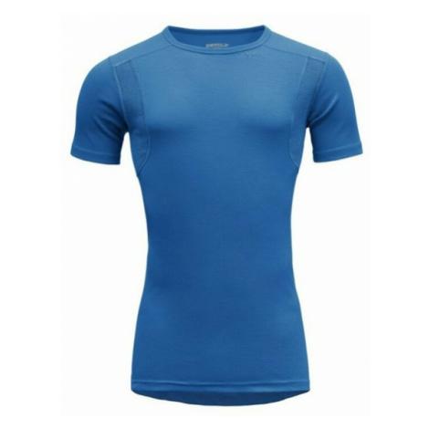 Pánske tričko Devold HIKING MAN T-shirt GO 245 210 A 291A blue