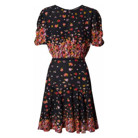 Derhy Letné šaty  čierna / červená / žltá / fialová / biela