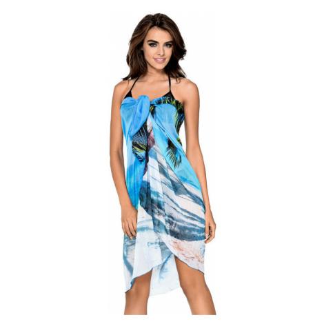 Plážové pareo Hawai modré Lorin