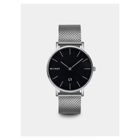 Dámske hodinky s nerezovým remienkom v striebornej farbe Millner Mayfair