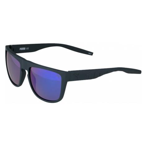 PUMA Slnečné okuliare  tmavomodrá / zelená