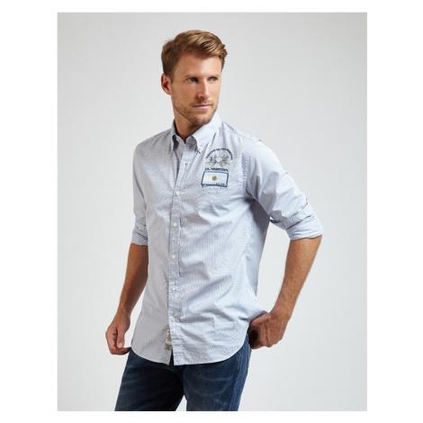 Košeľa La Martina Man L/S Y/D Check Poplin Shirt