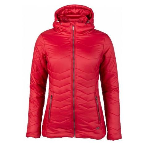 Willard ASPENA červená - Dámska prešívaná bunda