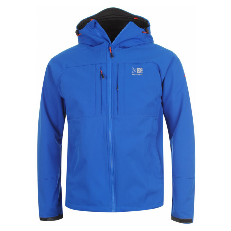 Pánska softshellová bunda Karrimor Alpiniste Blue/Orange