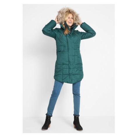 Prešívaný kabát, 2v1 vzhľad