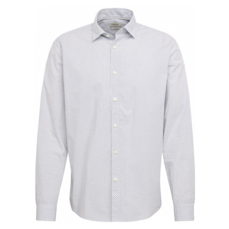 ESPRIT Košeľa  biela / modrá