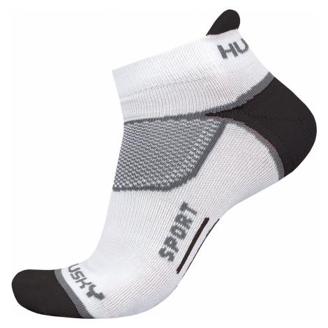 Husky Sport biela, XL(45-48) Ponožky