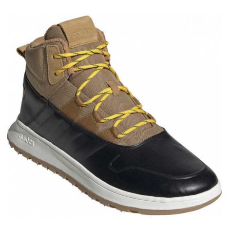 adidas FUSION STORM WTR hnedá - Pánska voľnočasová obuv