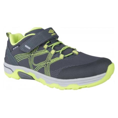 Umbro MATTIAS zelená - Detská vychádzková obuv