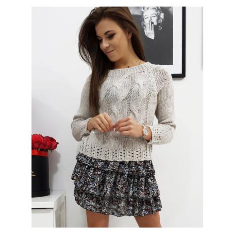 Dámsky béžový sveter my0684