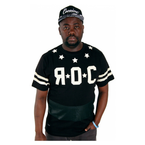 Rocawear Vario Black Flag Tee Black R1401T011-100 - Veľkosť:XL