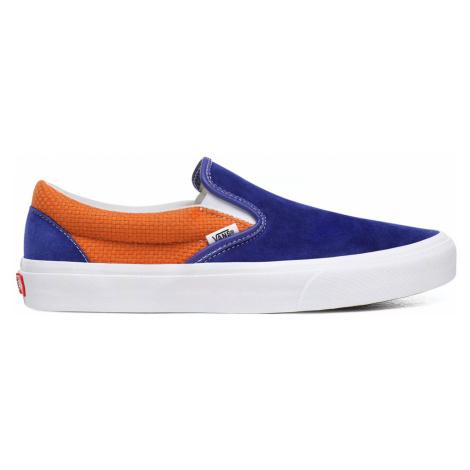 Vans Ua Classic Slip-On (P&C) Ryl Bl/Apricot Buff-11 modré VN0A4U38WTJ-11
