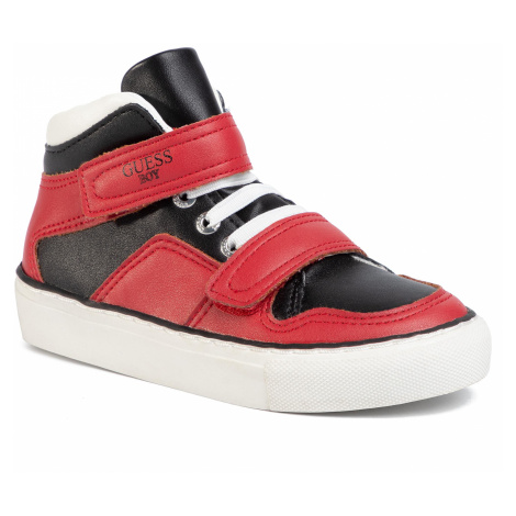 Sneakersy GUESS - Luiss Hi Jr FI5LSH ELE12 RED