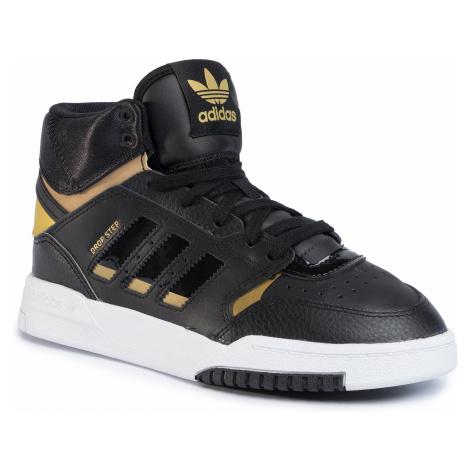 Topánky adidas - Drop Step J EF7154 Cblack/Goldmt/Ftwwht
