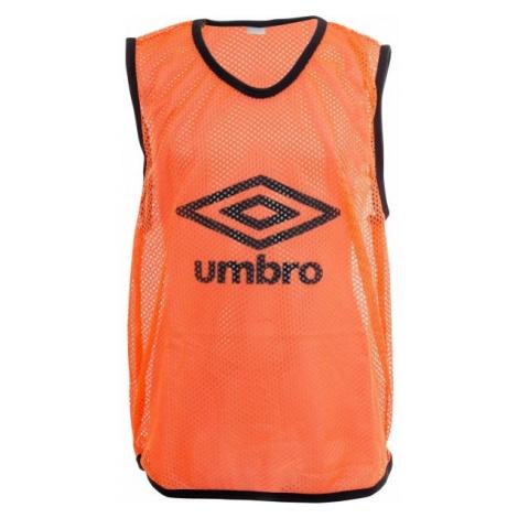 Umbro MESH TRAINING BIB - 65x52CM - Junior oranžová - Detský rozlišovací dres
