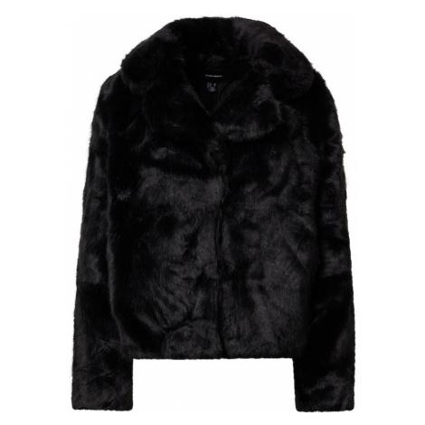 VERO MODA Prechodná bunda  čierna