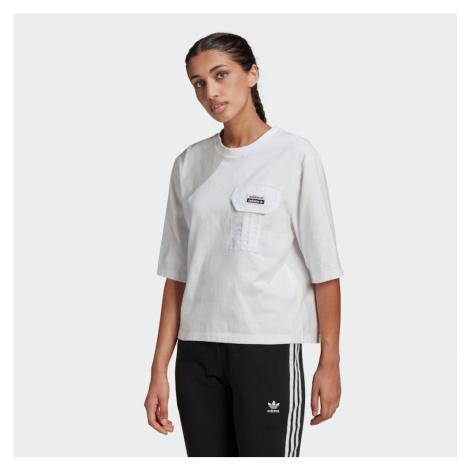 ADIDAS ORIGINALS Tričko  biela / čierna
