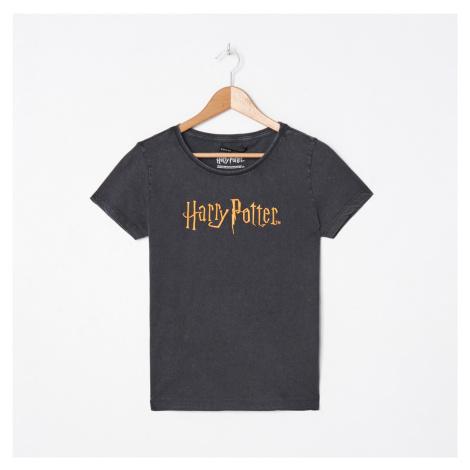 House - Tričko Harry Potter - Šedá