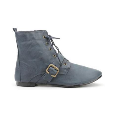 Dámske elegantné topánky - modré