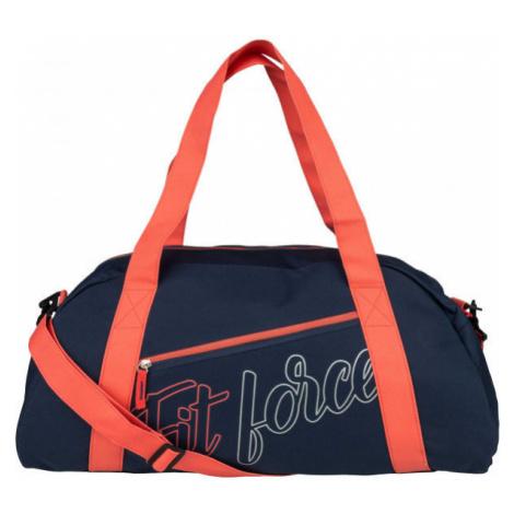 Fitforce AMAROK tmavo modrá - Dámska športová taška
