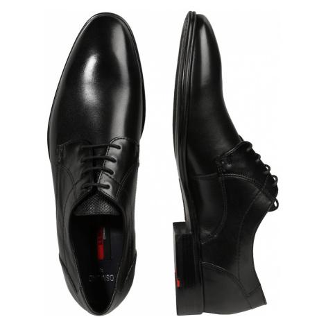 LLOYD Šnurovacie topánky 'Osmond'  čierna