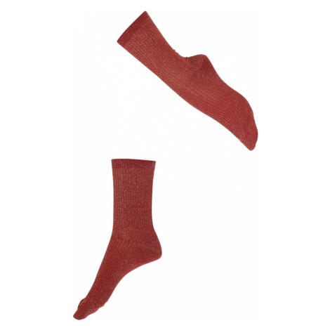FALKE Ponožky 'Shiny'  červená