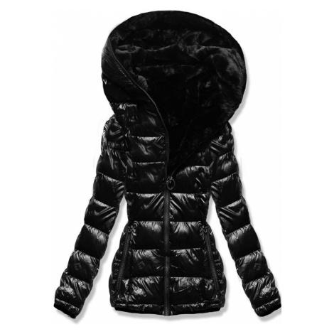 MODOVO Zimná bunda perleťovo-čierna