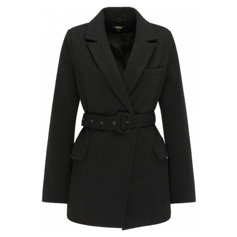 usha BLACK LABEL Prechodný kabát  čierna