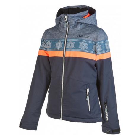 Rehall ANNA-R-JR tmavo šedá - Detská lyžiarska bunda