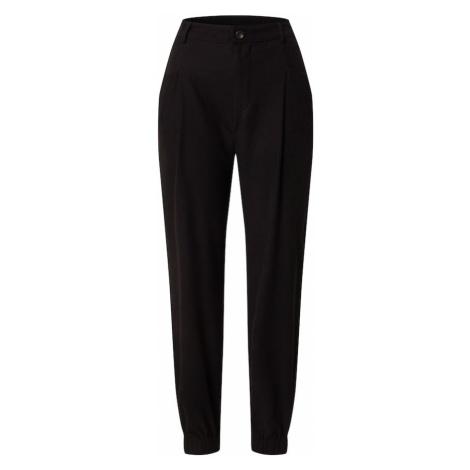ONLY Plisované nohavice 'Emery'  čierna