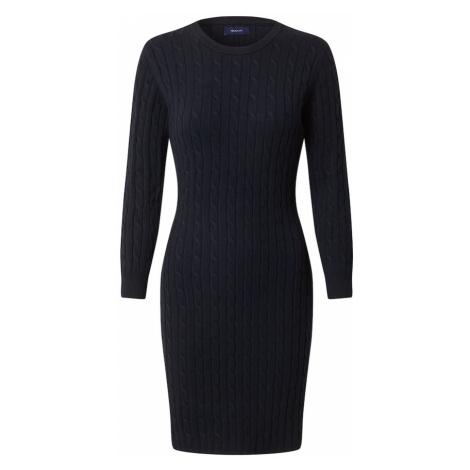 GANT Puzdrové šaty  tmavomodrá