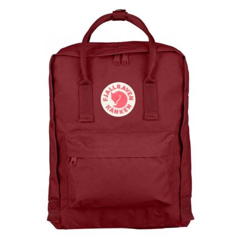 Štýlový červený ruksak Fjallraven Kanken Fjällräven