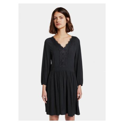 Čierne šaty Tom Tailor Denim