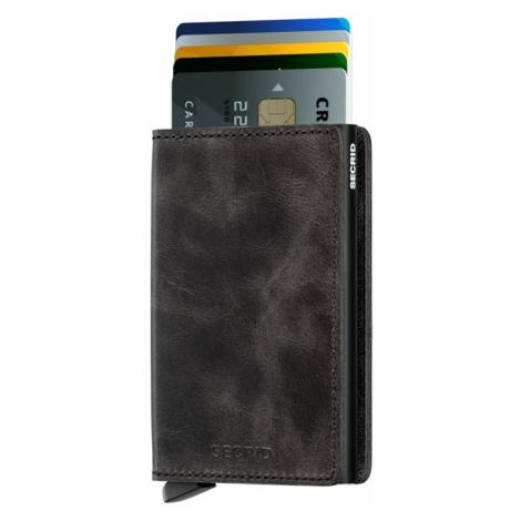 Secrid Slimwallet Vintage Black-One size čierne SV-BLACK-One size