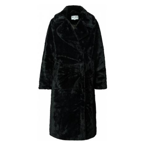 NA-KD Zimný kabát  tmavozelená
